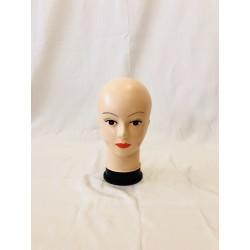 Testa donna di plastica collo alto