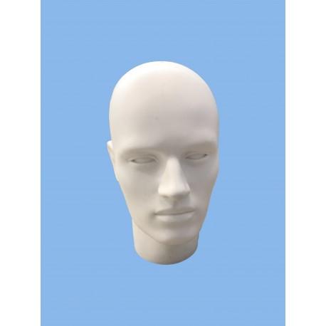 Testa uomo con volto basso